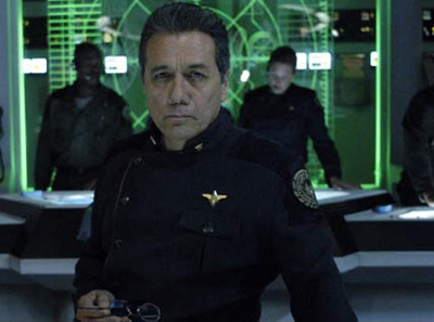 Commander William Adama