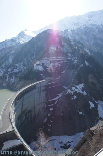 黑部大壩-觀景台上的view2