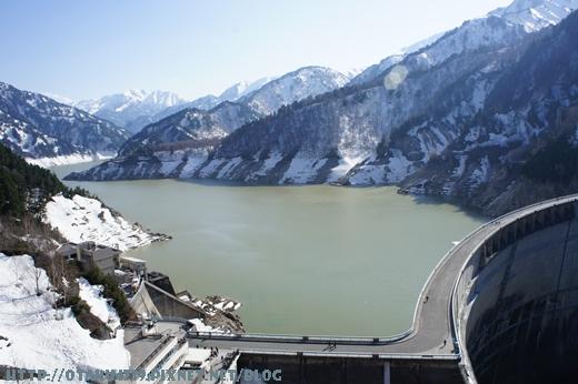 黑部大壩-觀景台上的view1