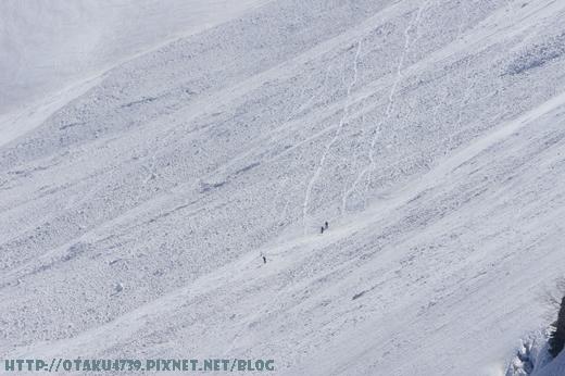 大觀峰-黑部平(約7分鐘)-好厲害的滑雪者1