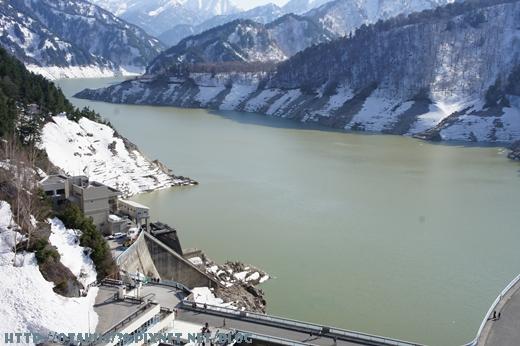 黑部大壩-觀景台上的view6
