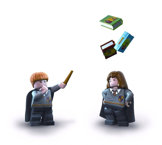 Lego Harry Potter-Ron+Hermione