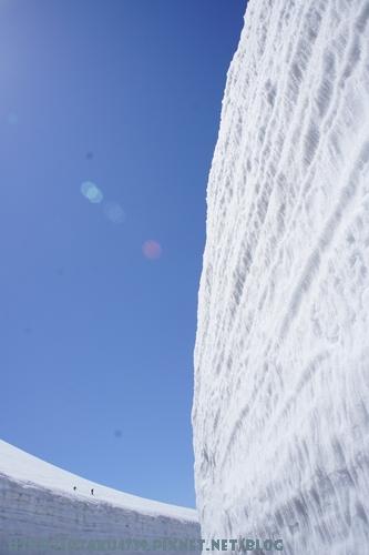 室堂站-雪牆3
