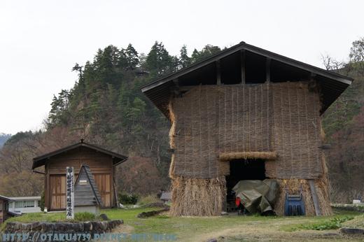 白川鄉合掌村-和田家板藏稻架小屋