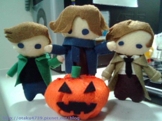 Dean+Sam+Cas Halloween