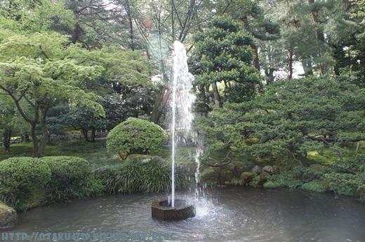 兼六園-噴水2