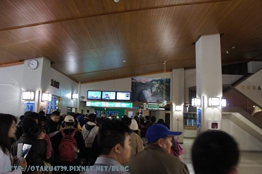 立山站-候車大廳