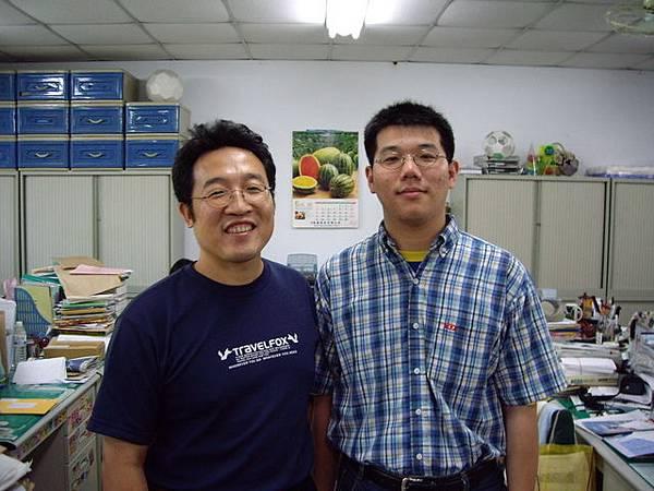 我和謝金龍老師