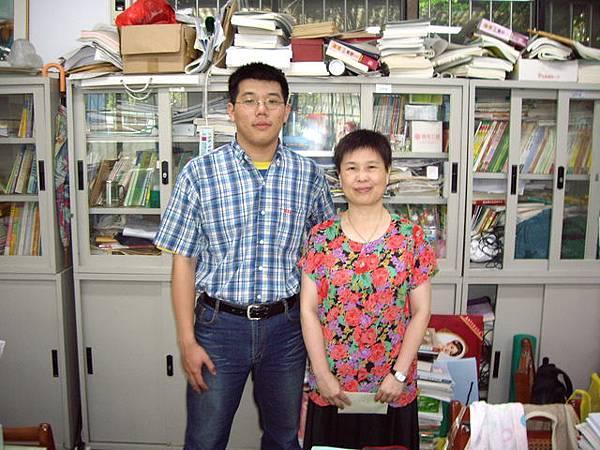 我和李美足老師