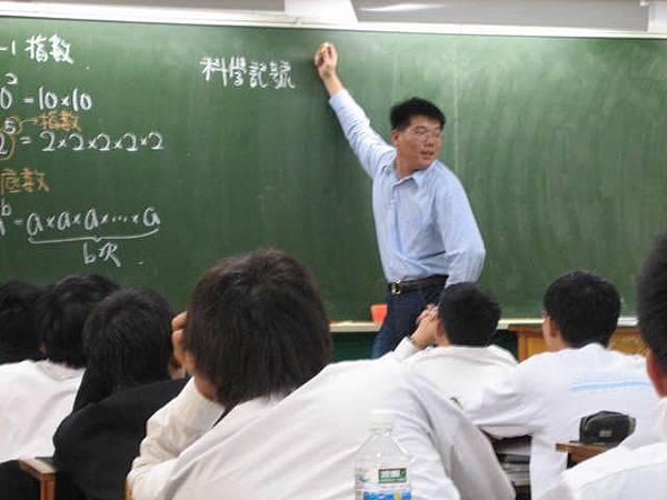 昌小澤上數學課