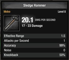1105-Sledge Hammer