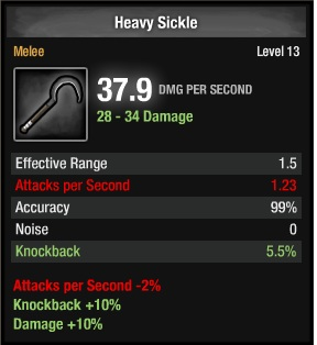 1105-Heavy Sickle