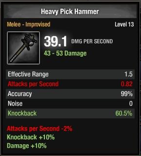 1105-Heavy Pick Hammer