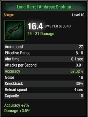 Ambrose Shotgun