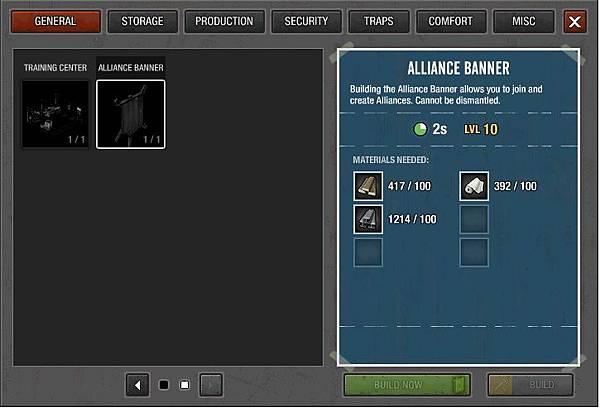 Alliance banner