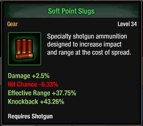 Gear-Soft Point Slugs