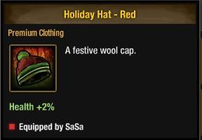 節日帽-紅