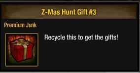 聖誕資源回收箱
