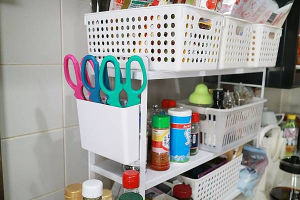 tower可調式三層置物架(白) 山崎收納 Yamazaki 廚房收納 餐具收納盒 廚具 廚房備料 瓶罐