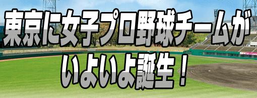 東京女子職業棒球隊誕生