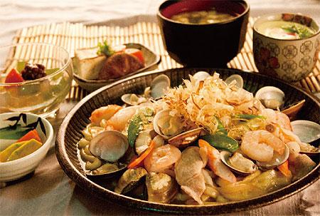 205海鮮炒烏龍麵