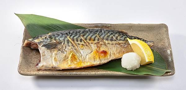 306鹽烤鯖花魚 $168