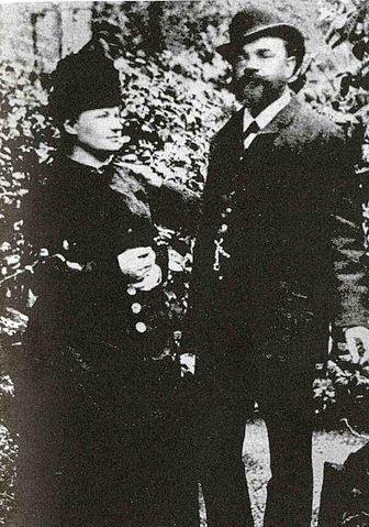 Dvorak_Wife Anna_London_1886