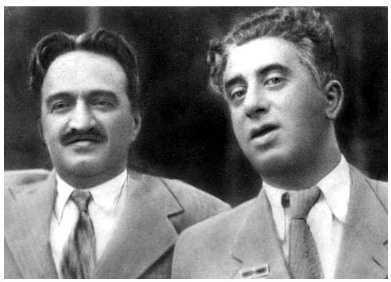 Khachaturian_With Soviet politician Anastas Mikoyan