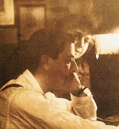 Enrique Granados y Amparo Gal Ano 1900