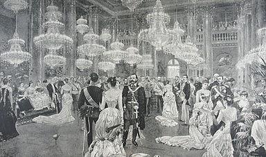Court Ball in Vienna 19century