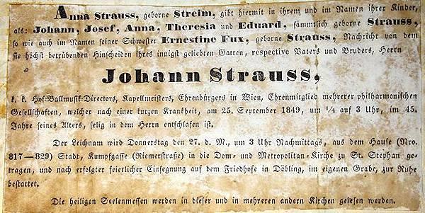 Franziska Lanner inspirierten Spitze sammtlich geborne Strauss