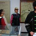 大家都帶著文物館志工的共同標誌-領巾!