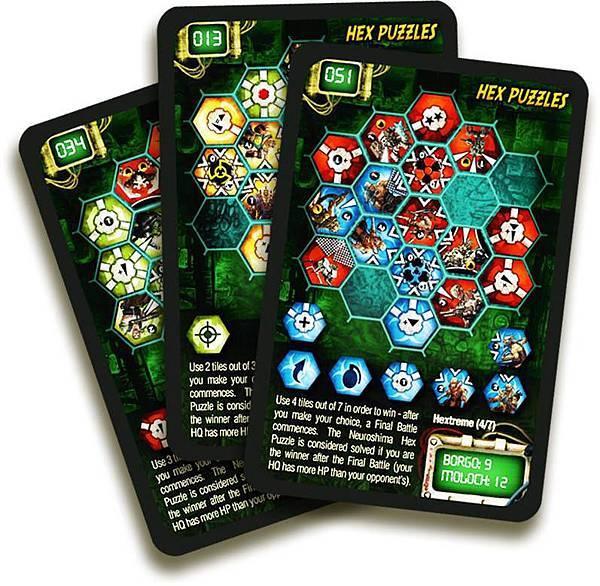 Neuroshima Hex 3-0 scenario cards