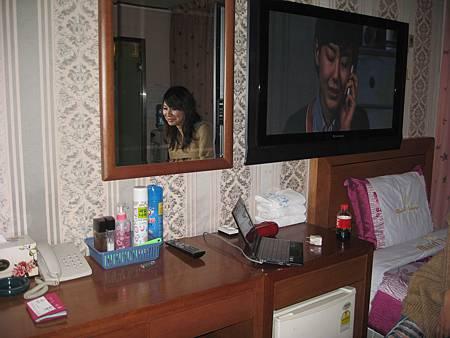 化妝台+電視