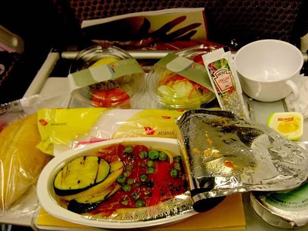 維京航空 素食飛機餐