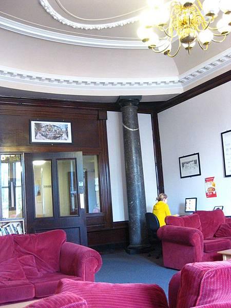 Glasgow青年旅館交誼廳