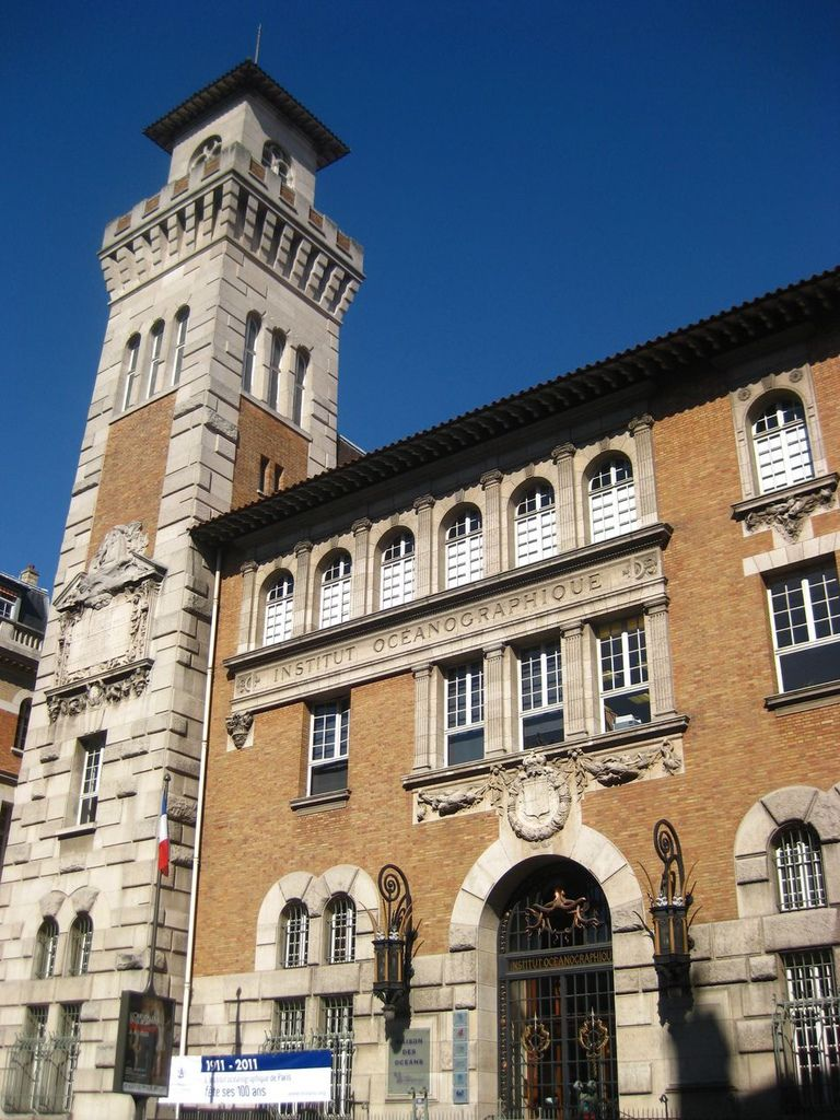 Institut Oceanographique 海洋學研究所  這棟建築很有義大利的風格.JPG