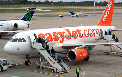 不論哪一家廉價航空,大部分都是像這樣自己走樓梯機上飛機