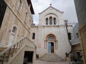 悲苦路-第4站-耶穌遇見母親馬利亞-阿美尼亞天主教會總堂.JPG