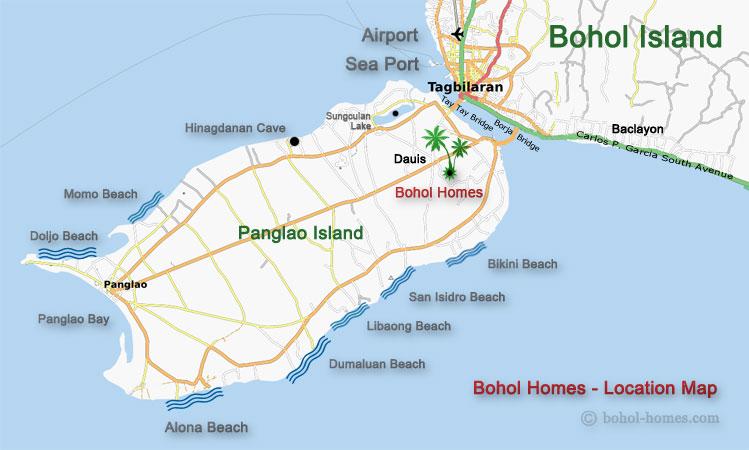 bohol-homes-location-map