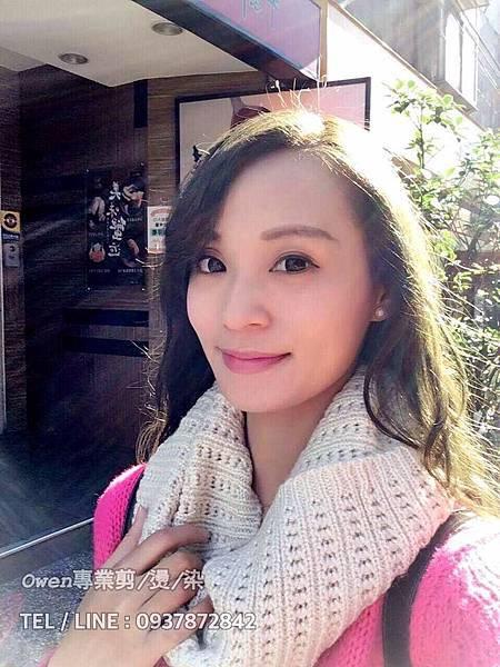 墨茶綠/大波浪/女生髮型