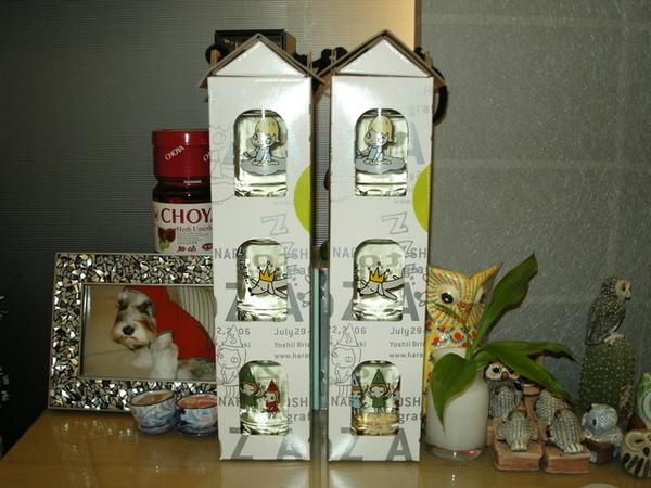 奈良美智設計的酒瓶