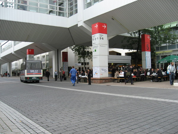 第五館的展場外