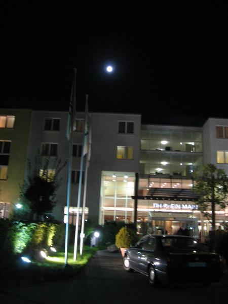 書展期間住的飯店
