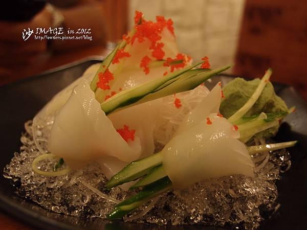 章魚生魚片