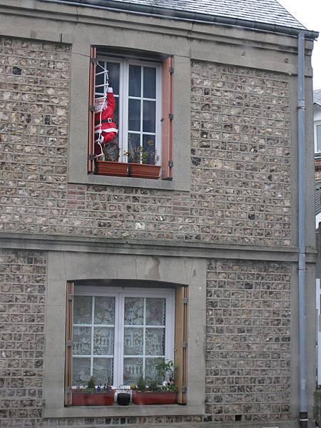 永遠拍不膩的聖誕老人