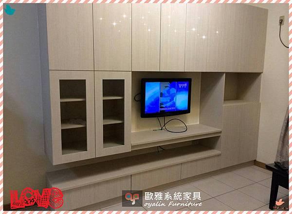 電視牆收納規劃1