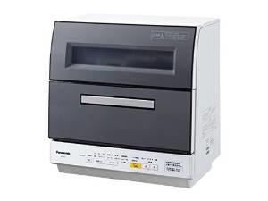 パナソニック 食器洗い乾燥機(グレー)Panasonic エコナビ NP-TR8-H
