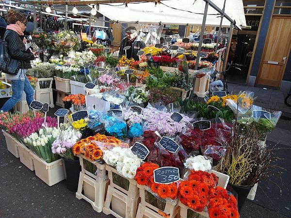 Albert Cuyp Market in Amsterdam