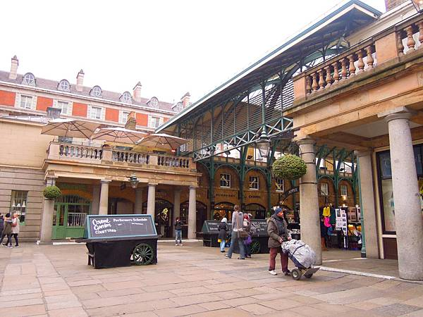Covent Garden Market in London